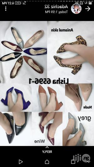 Females Work Shoes 2 Inches Block Heel | Shoes for sale in Lagos State, Lagos Island (Eko)