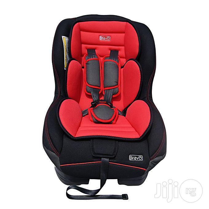 Archive: New Bravo Car Seat Black/Red