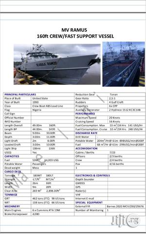 Lease Your Vessels/Barge Boats In Port Harcourt | Automotive Services for sale in Rivers State, Obio-Akpor