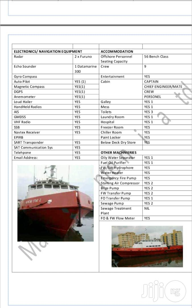 Lease Your Vessels/Barge Boats In Port Harcourt