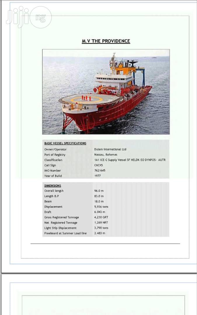 Lease Your Vessels/Barge Boats In Port Harcourt | Automotive Services for sale in Obio-Akpor, Rivers State, Nigeria