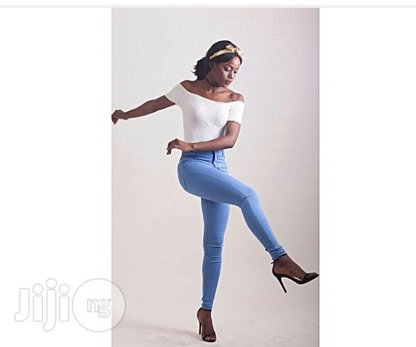 Archive: OVS 72D Skinny Stretch Jeans -Light Indigo