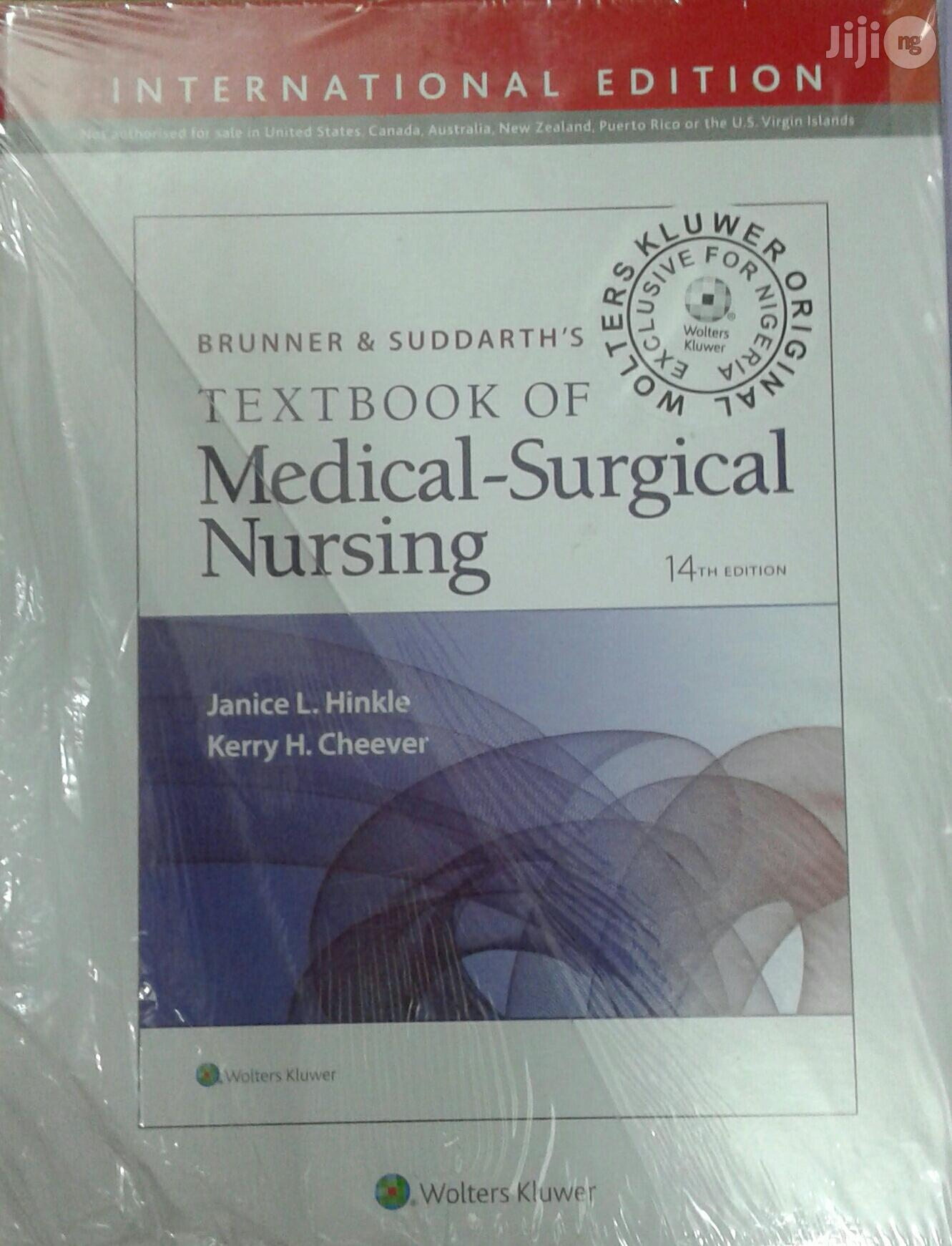 Medical Surgical Nursing By Brunner