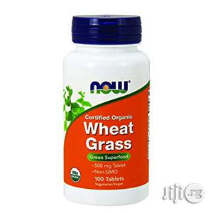Organic Wheat Grass 500mg- 100 Capsules   Vitamins & Supplements for sale in Lagos State, Ifako-Ijaiye