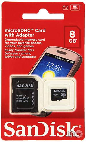 8GB Sandisk Memory Card   Accessories for Mobile Phones & Tablets for sale in Rivers State, Port-Harcourt