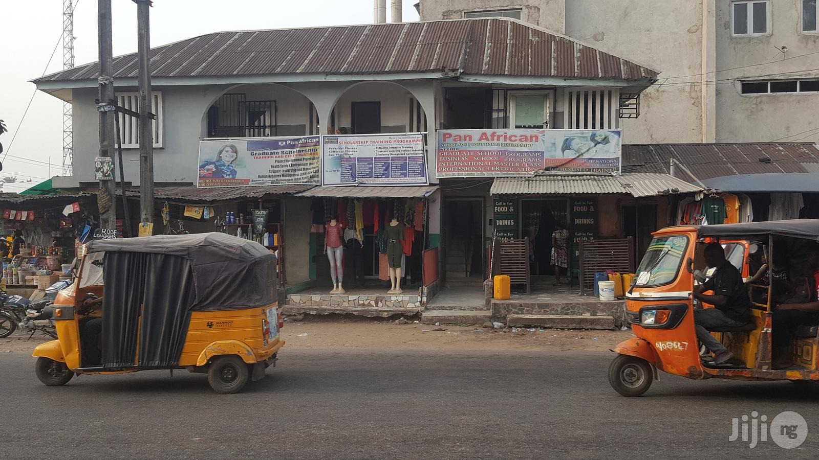 Storey Building With 5 Shops Ground Floor And A Big Hall With Office | Commercial Property For Sale for sale in Uyo, Akwa Ibom State, Nigeria
