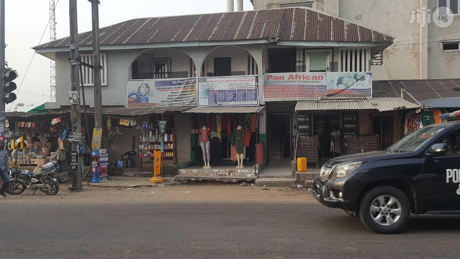 Storey Building With 5 Shops Ground Floor And A Big Hall With Office
