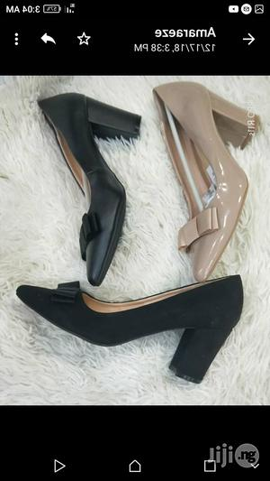 Female Office Shoes ,Work All Day 3 Inches Block Heel | Shoes for sale in Lagos State, Lagos Island (Eko)