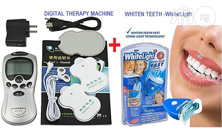 Teeth Whitening With Digital Therapy Machine