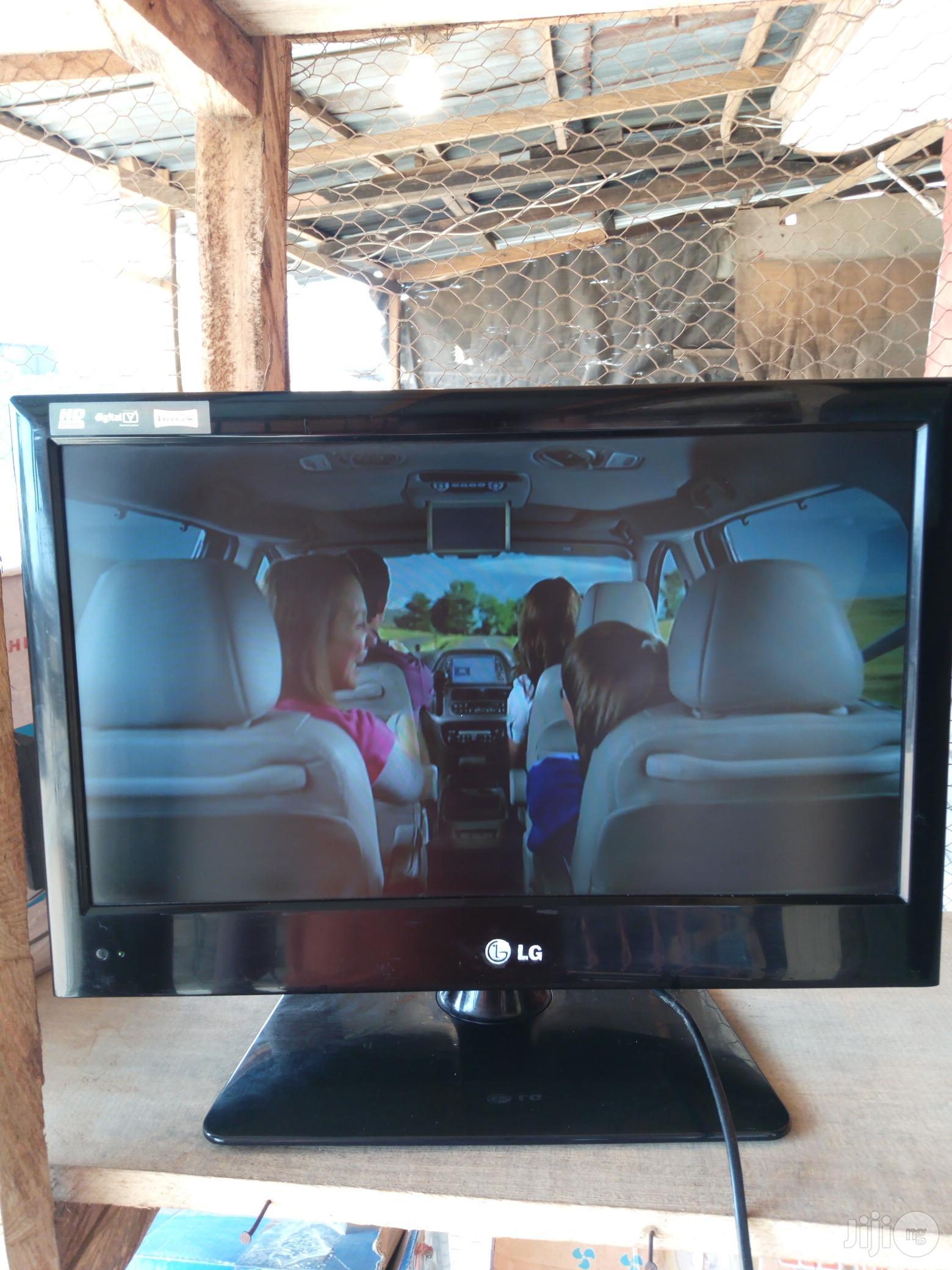 LG LED HD Plasma TV 19inchs   TV & DVD Equipment for sale in Ikorodu, Lagos State, Nigeria