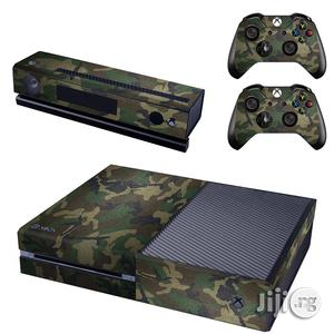 Xbox One Console Skin / Sticker + 2 X Controller Decals &Amp | Accessories & Supplies for Electronics for sale in Lagos State, Ikeja