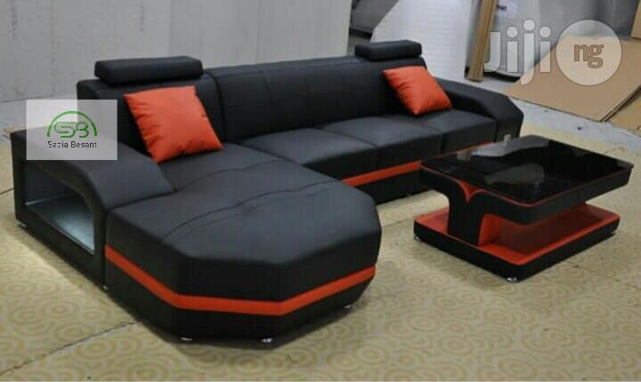 L Shaped Classy Chair