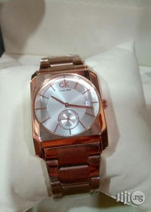 Calvin Klein(CK) Rose Gold Chain Watch for Women's | Watches for sale in Lagos State, Lagos Island (Eko)