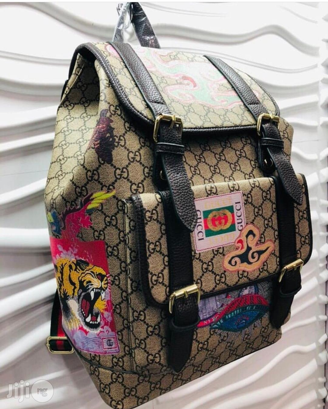Gucci Designer Backpack