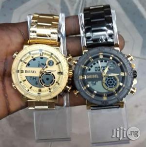 DIESEL Analog and Digital Chain Wrist Watch | Watches for sale in Lagos State, Lagos Island (Eko)