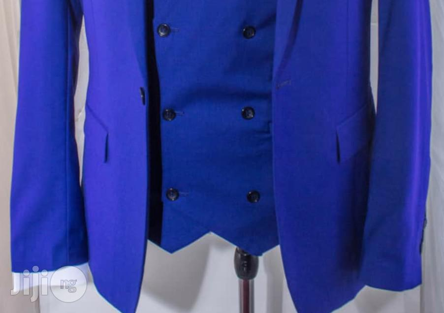 Archive: Royal Blue Three Piece Wedding Suits