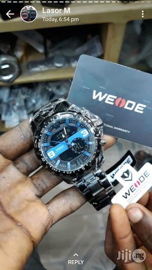 Waide Analog and Digital Chain Wrist Watch | Watches for sale in Lagos State, Lagos Island (Eko)