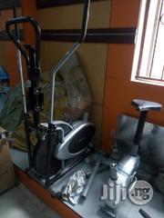 Brand New Stationary Bike With Dumbell   Sports Equipment for sale in Rivers State, Omuma