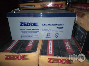 Zedix 200ah Battery | Electrical Equipment for sale in Lagos State, Ojo