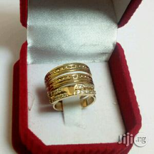 Rossy Gold Wedding Ring Set | Wedding Wear & Accessories for sale in Lagos State, Surulere