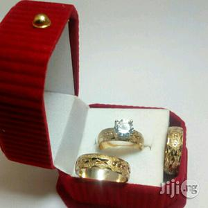 Mentol Gold Wedding Ring Set | Wedding Wear & Accessories for sale in Lagos State, Surulere