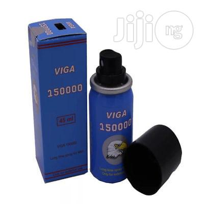 SUPER VIGA 150000 Extra Strong Delay Spray For Men With Vitamin E | Sexual Wellness for sale in Ikeja, Lagos State, Nigeria