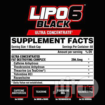 Lipo-6 Black Ultra Concentrate by Nutrex Research | Vitamins & Supplements for sale in Ojo, Lagos State, Nigeria