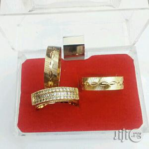 Brunswick Gold Wedding Ring Set | Wedding Wear & Accessories for sale in Lagos State, Surulere