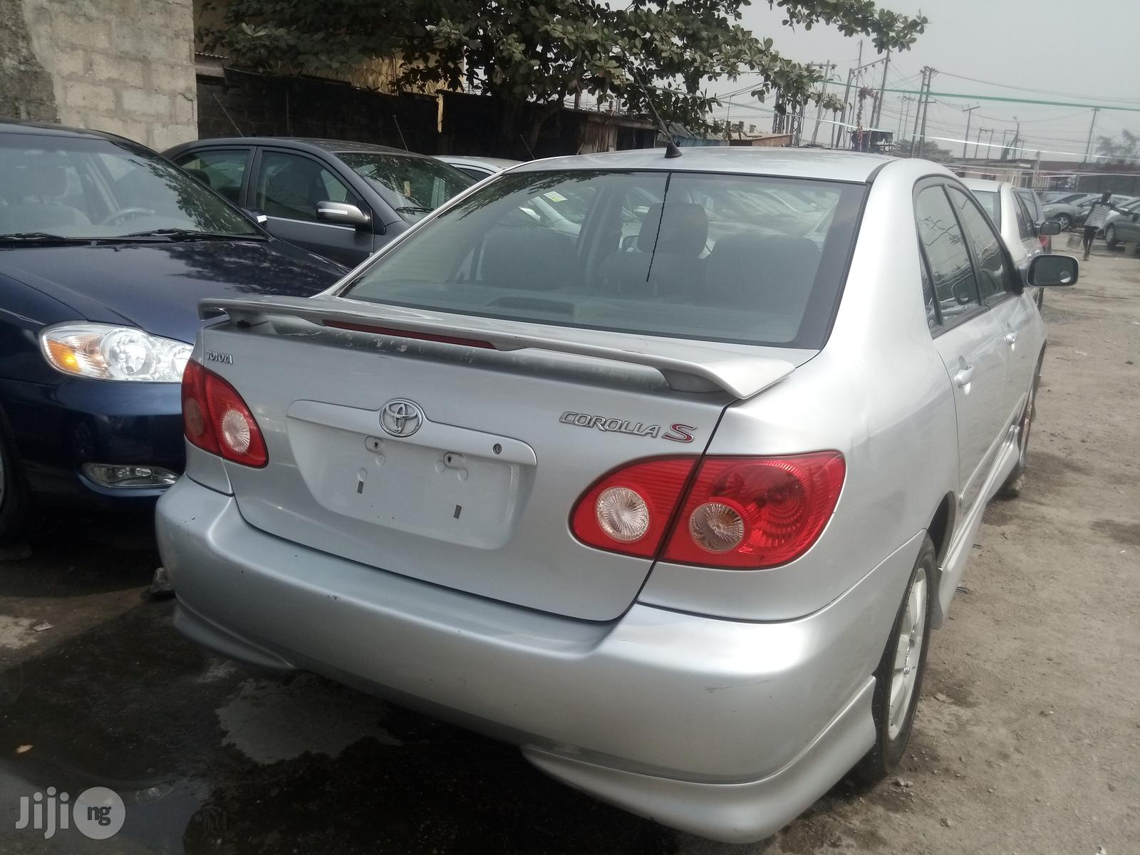 Toyota Corolla 2006 S Silver | Cars for sale in Apapa, Lagos State, Nigeria