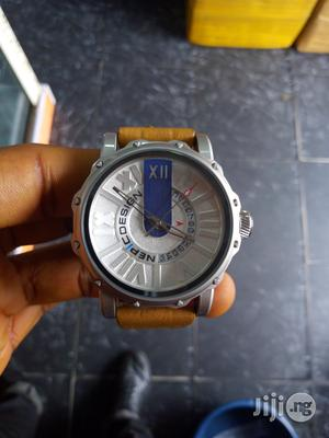 Nepic Design Brown Leather Watch | Watches for sale in Rivers State, Port-Harcourt