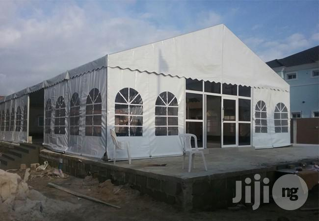 Marquee Tent From 50 To 1000 Seater Both Imported & Local | Camping Gear for sale in Alimosho, Lagos State, Nigeria