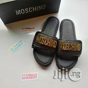 Authentic Moschino Palm Slippers | Shoes for sale in Lagos State, Ojo
