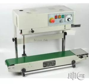Vertical Continuous Film Sealing Machine - Plastic Bag Package Machine - Band Sealer | Manufacturing Equipment for sale in Lagos State, Lagos Island (Eko)