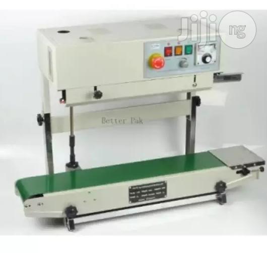 Vertical Continuous Film Sealing Machine - Plastic Bag Package Machine - Band Sealer