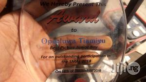 Presentable Acrylic Award With Printing | Arts & Crafts for sale in Lagos State, Apapa