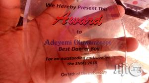 Acrylic Award With Printing | Arts & Crafts for sale in Lagos State, Apapa