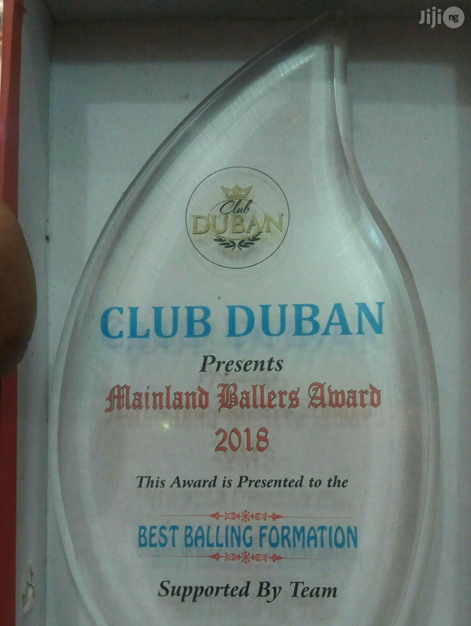 Acrylic Award With Printing | Arts & Crafts for sale in Apapa, Lagos State, Nigeria