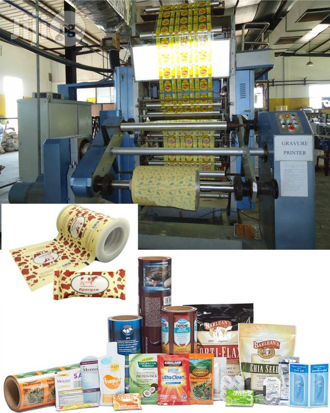 Metallized Nylon Printing For All Product Packaging