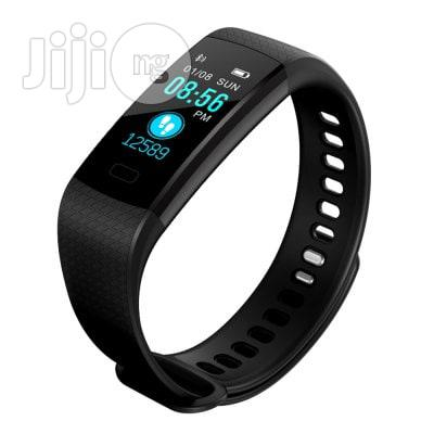 Smart Bracelet Sports Fitness Activity Heart Rate Tracker Blood | Smart Watches & Trackers for sale in Ikeja, Lagos State, Nigeria