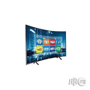 Hisense 49 Inch Uhd Curved Smart LED TV - 4K+Free Wall Bracket   TV & DVD Equipment for sale in Lagos State, Ikeja