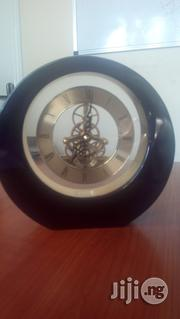 Round Rosewood Desk Clock   Home Accessories for sale in Lagos State, Lekki Phase 2