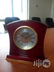 Medium Rosewood Desk Clock   Home Accessories for sale in Lagos State, Lekki Phase 2