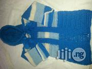 Crocheted Baby Striped Cardigan With Hood. | Children's Clothing for sale in Lagos State, Yaba
