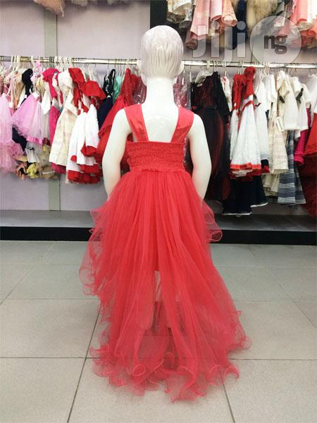 Beautiful Red Girls Party Dress | Children's Clothing for sale in Ojodu, Lagos State, Nigeria