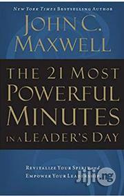 The 21 Most Powerful Minutes John C. Maxwell | Books & Games for sale in Lagos State, Surulere