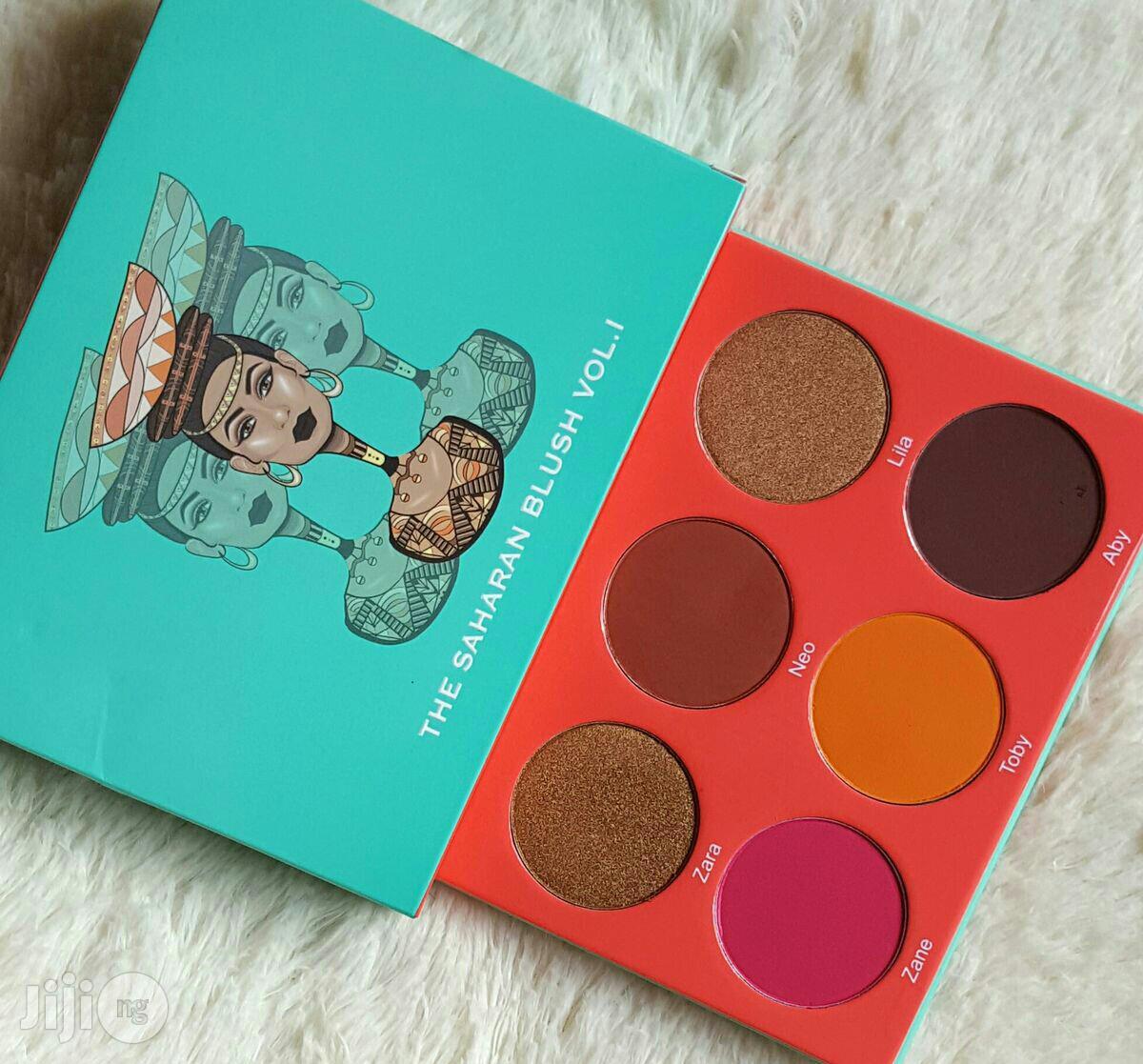 Archive: Saharan Blush Palette Vol 1 by Juvia's Place