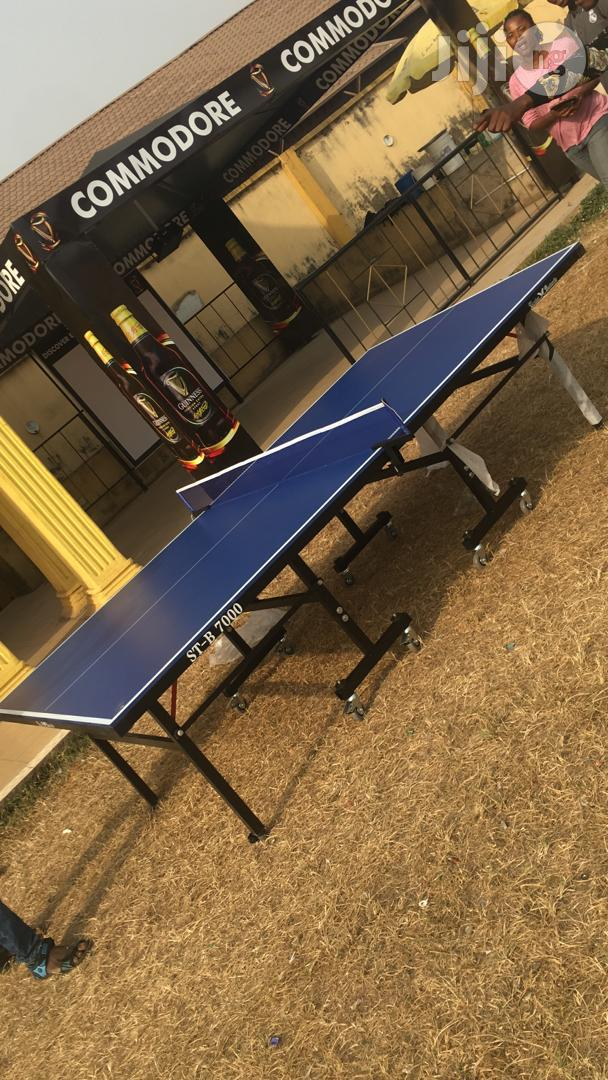 Outdoor Table Tennis Board.