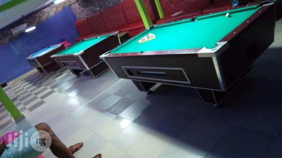 Coin Snooker Board