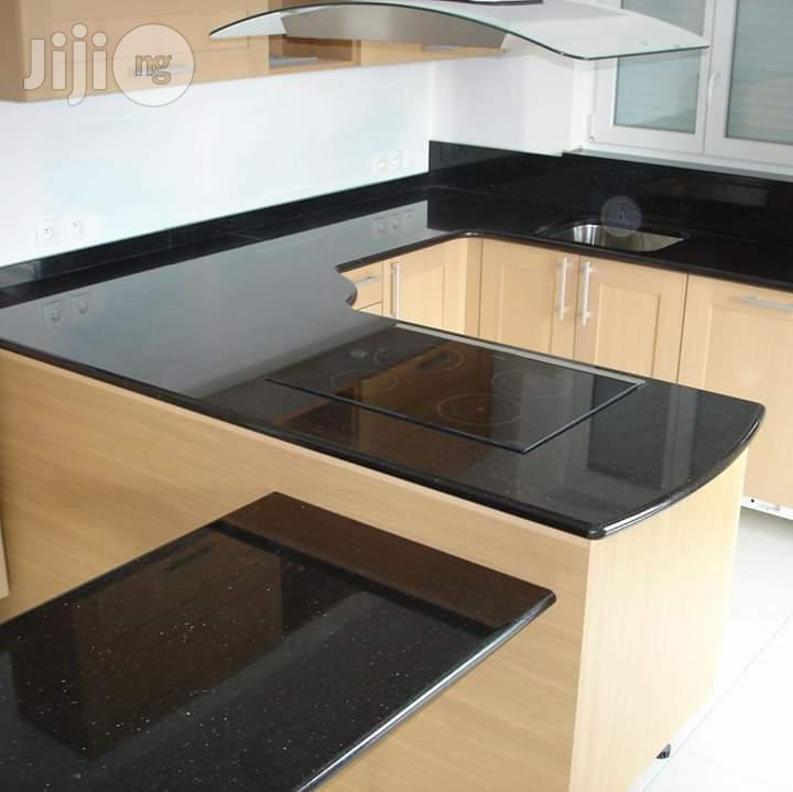 Marble Kitchen Top | Furniture for sale in Victoria Island, Lagos State, Nigeria