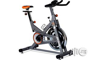 Spinning Exercise Bike With Water Bottle | Sports Equipment for sale in Lagos State, Surulere